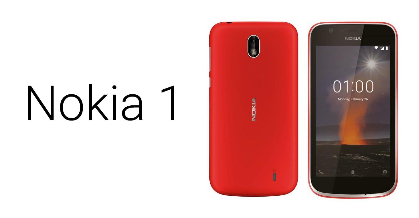 Android GO smartphone Nokia 1 se ukazuje [aktualizováno]