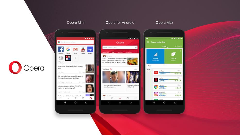 Opera chystá novou aplikaci pro smartphony