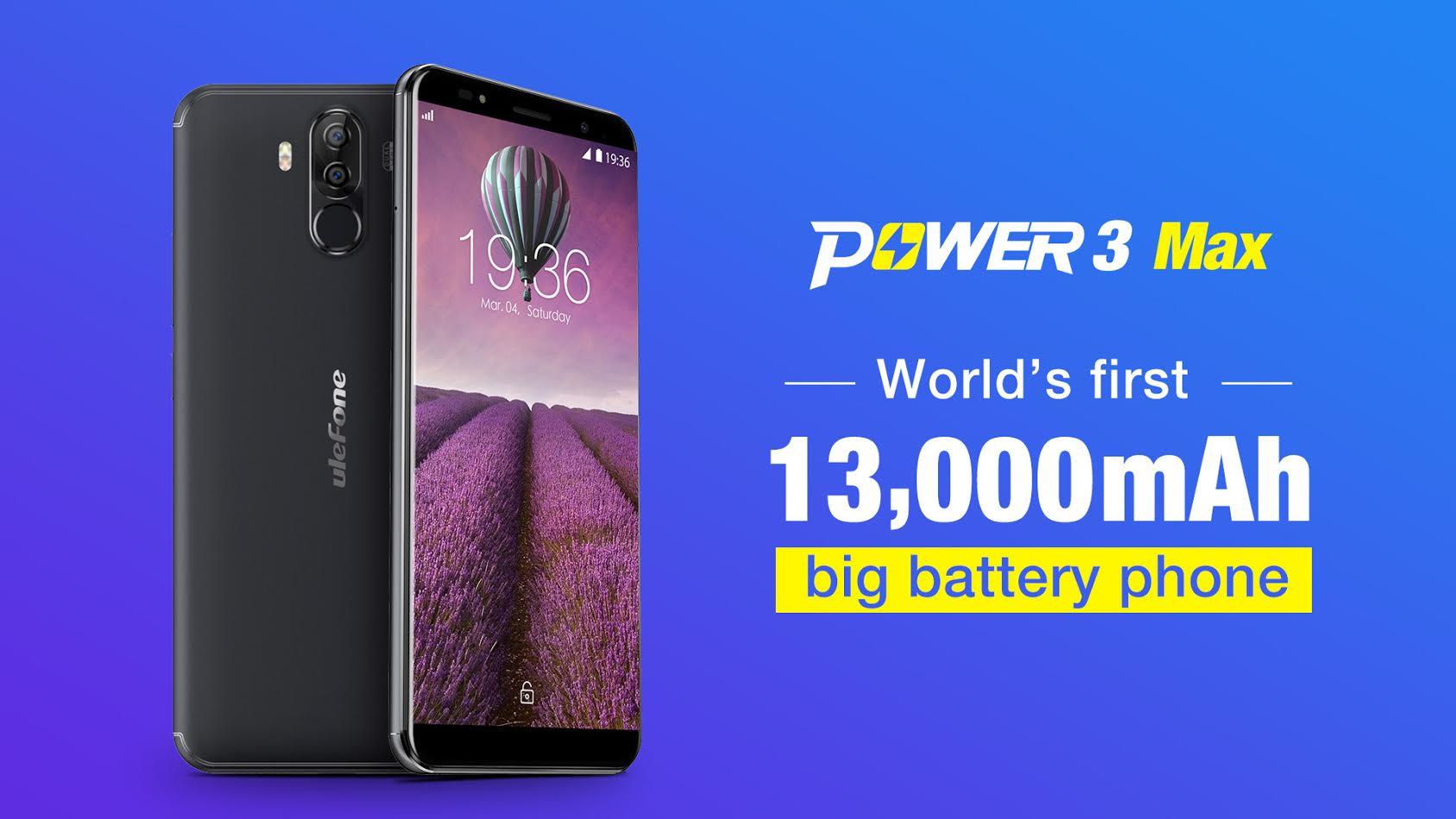 Power 3 Max – telefon s kapacitou baterie 13 000 mAh v přípravě [sponzorovaný článek]