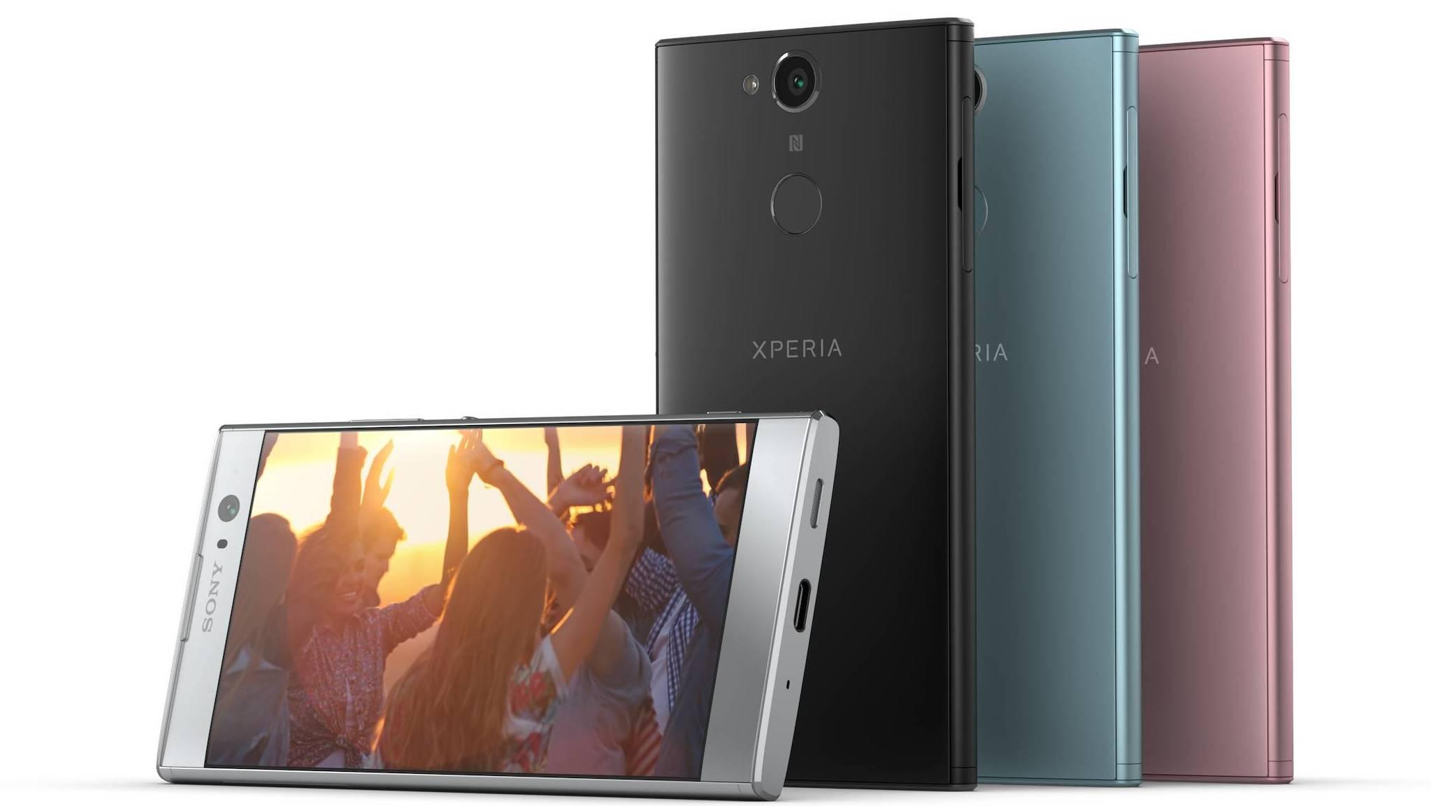 Zveřejněny české ceny nových Xperií XA2 (Ultra) Dual a L2 [aktualizováno]