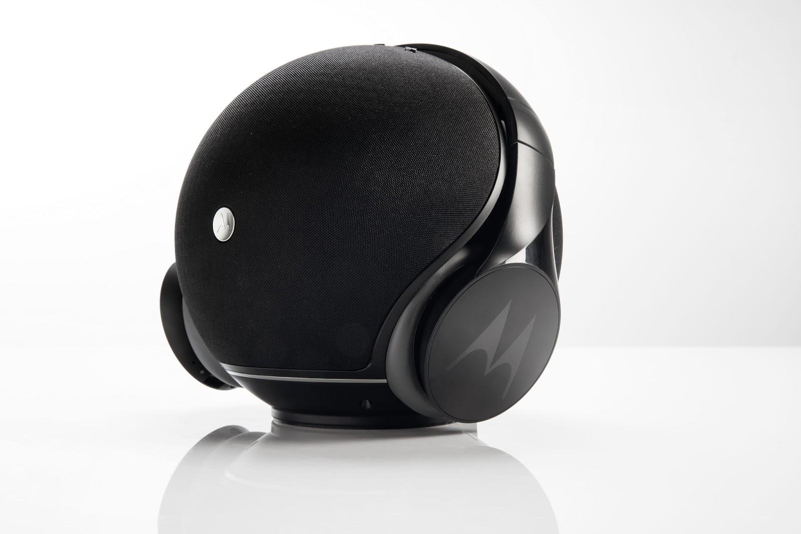Motorola Sphere+, bluetooth reproduktor se sluchátky