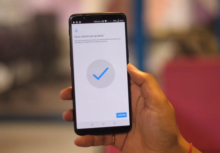 Vyzkoušeli jsme FaceUnlock na OnePlus 5