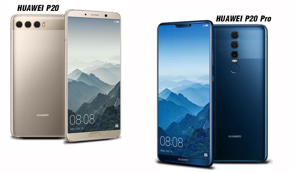 Huawei plánuje modely P20, P20 Plus a P20 Pro