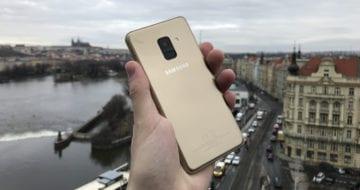 Samsung Galaxy A8 (2018) - první pohled