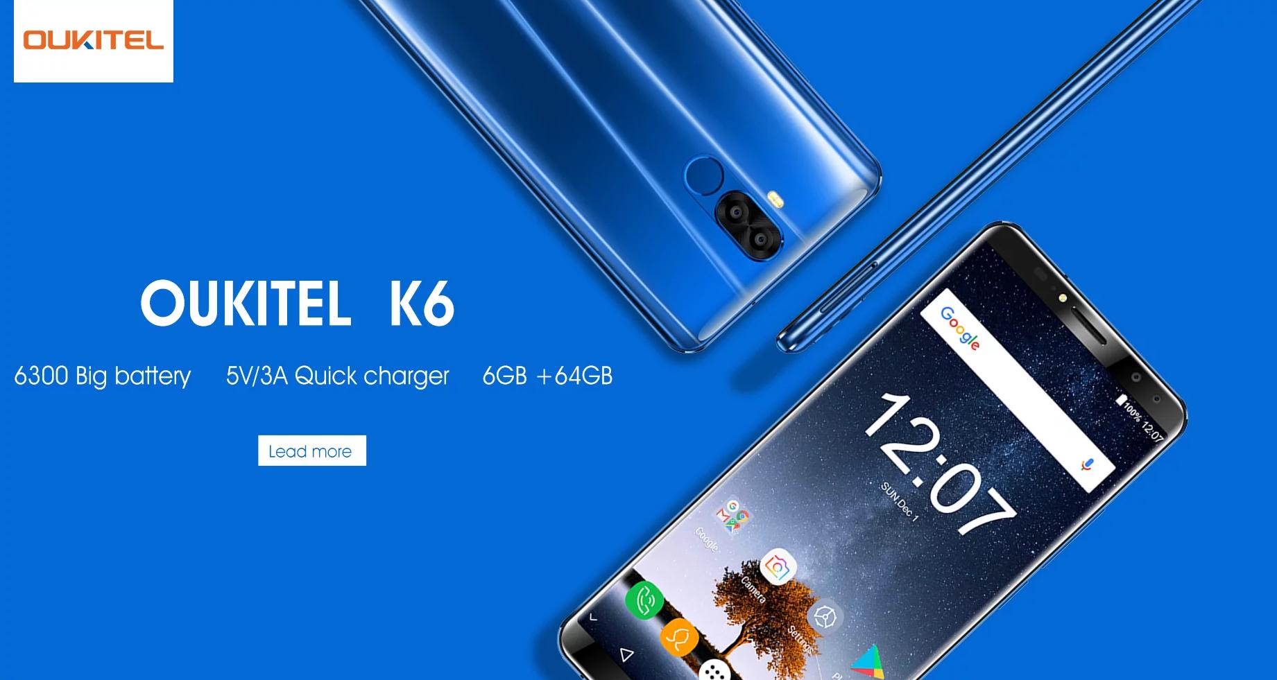 Oukitel přichází s dalším telefonem řady K, nabídne obrovskou baterii