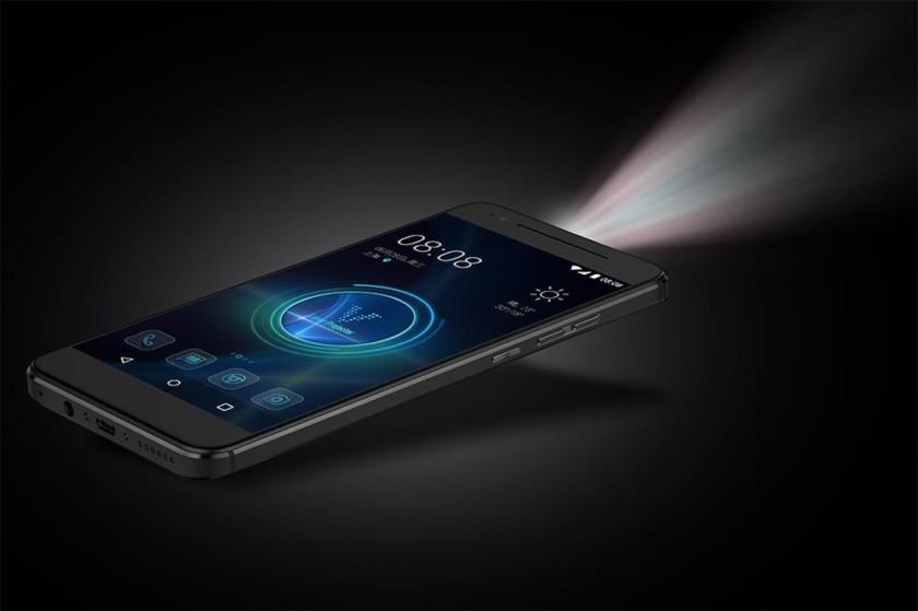 Moviphone – projektor v mobilu pro střední třídu
