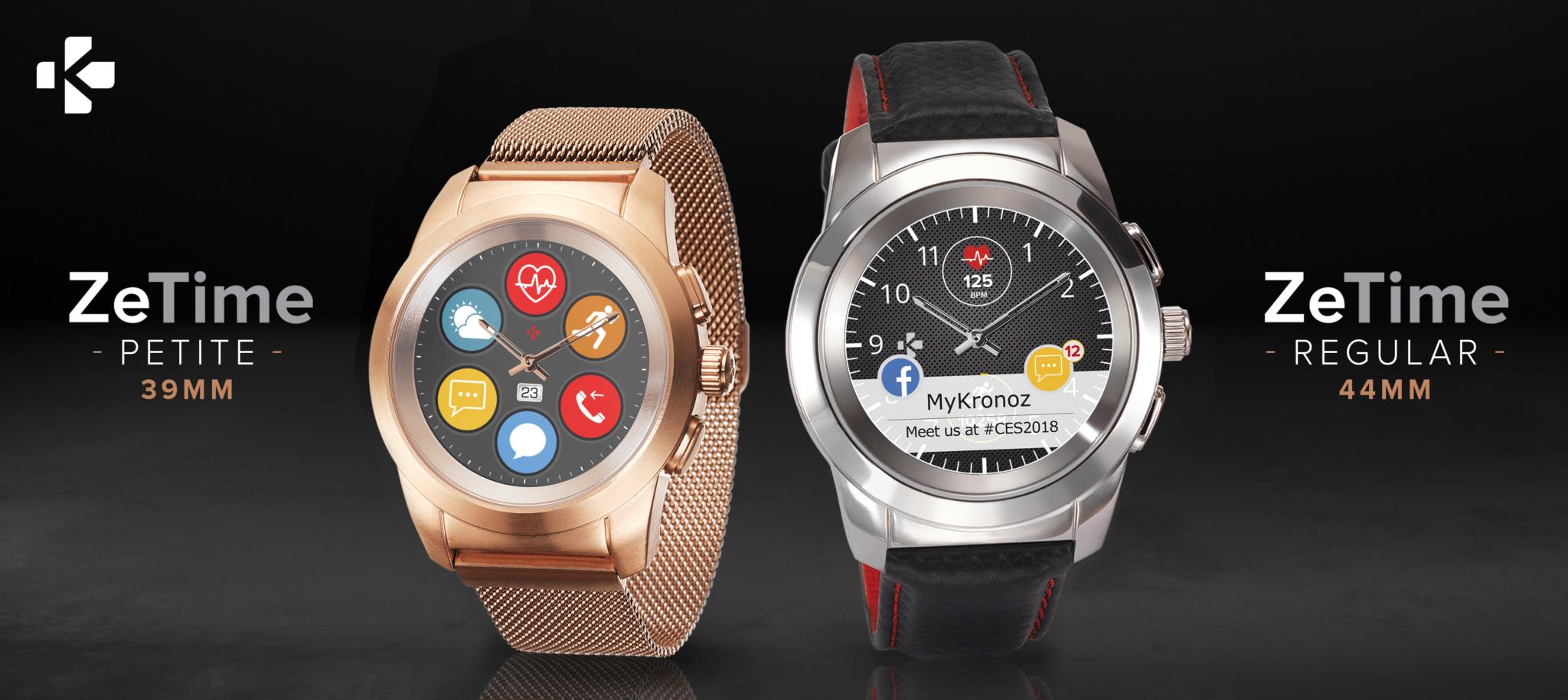 MyKronoz ZeTime – revoluční hodinky míří do prodeje