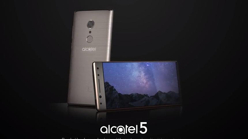 Alcatel 5 se odhaluje na videu, neoficiálně [aktualizováno]