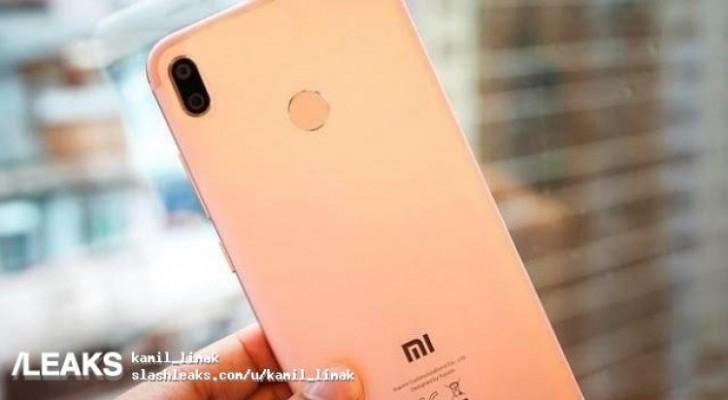 Xiaomi Mi 6X na prvních neoficiálních fotkách