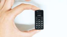Zanco Tiny T1 – nejmenší telefon na světě