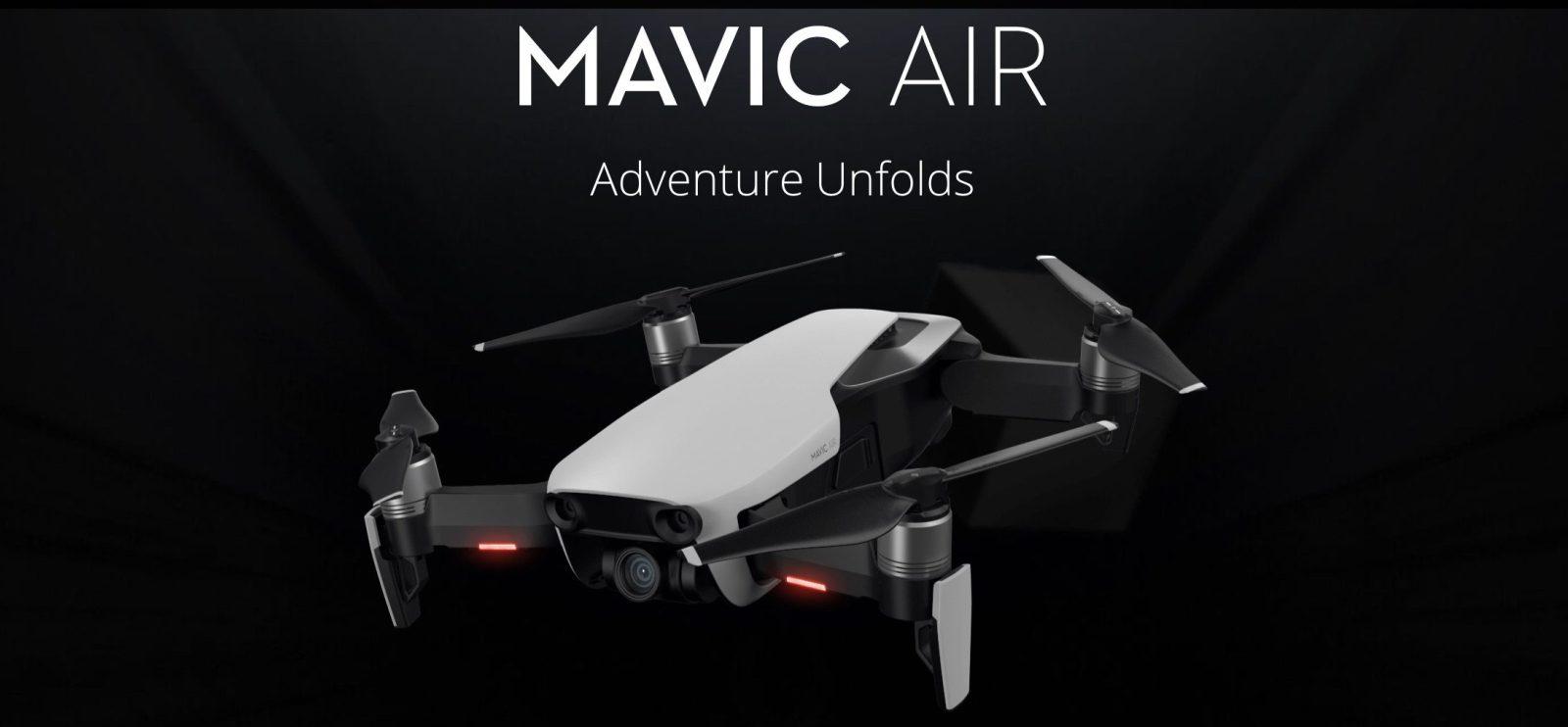 DJI Mavic Air: Máme pro vás speciální slevový kupon v hodnotě 2 000 Kč! [sponzorovaný článek]