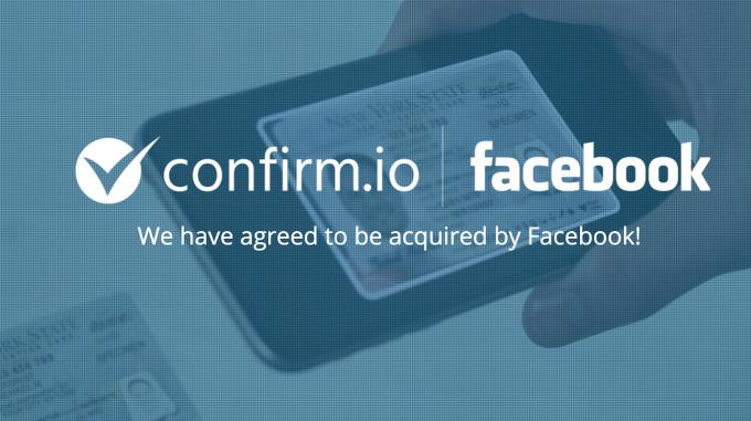 Facebook získává novou funkci ID ověření od Confirm.io