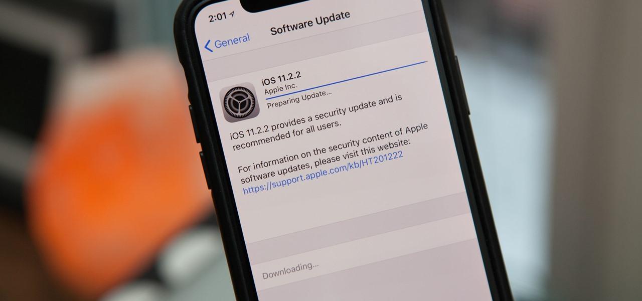 iOS 11.2.5 opraví problém, který doposud umožňoval šířit škodlivé odkazy v rámci Zprávy