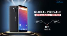 Exkluzivní předprodej vlajkové lodi Ulefone Power 3 prodloužen [sponzorovaný článek]