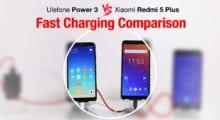 Porovnání baterií Ulefone Power 3 VS Xiaomi Redmi 5 Plus [sponzorovaný článek]