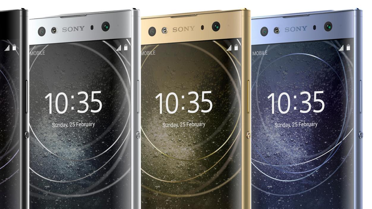 Takto budou vypadat novinky Sony Xperia XA2, XA2 Ultra a L2