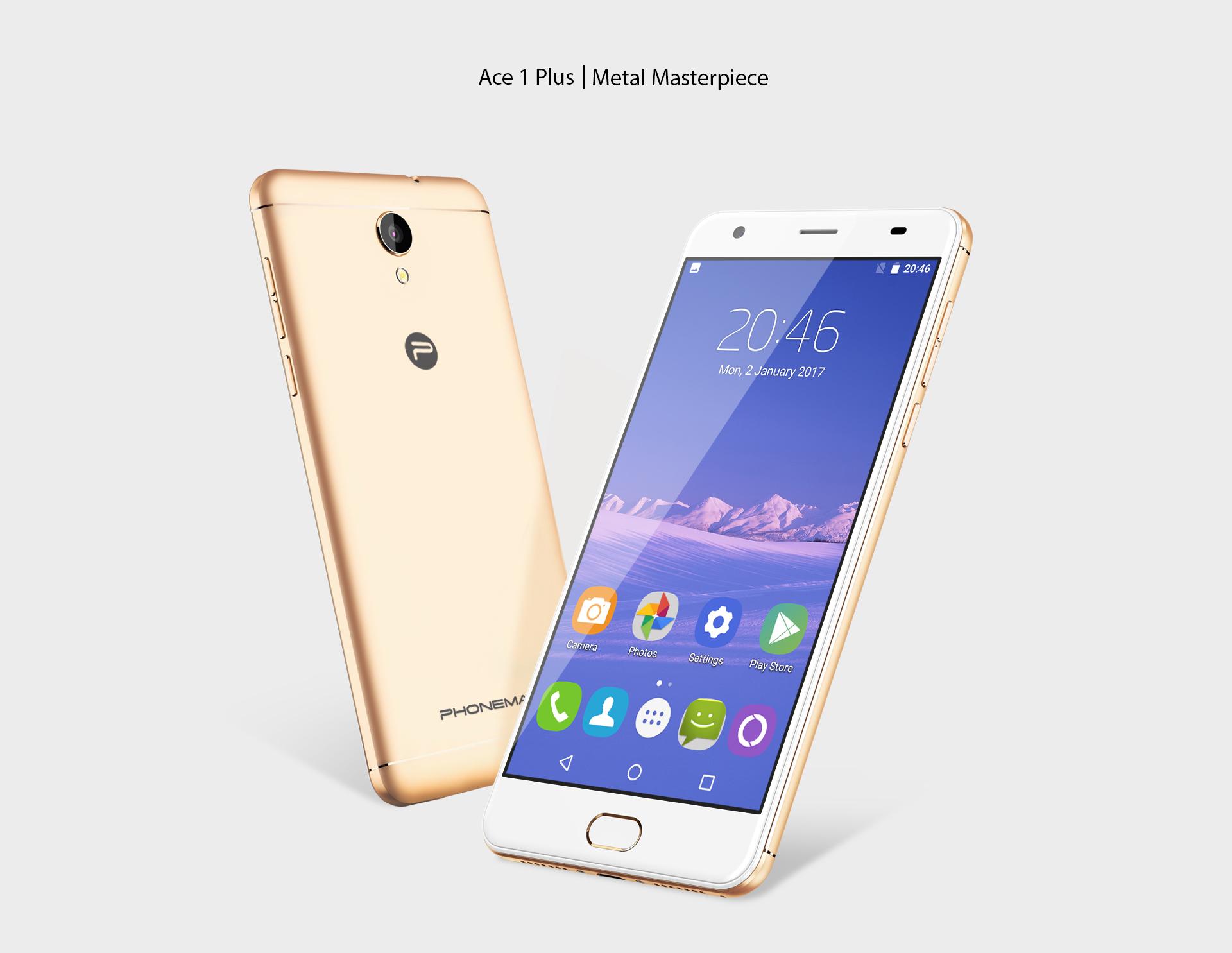 Další nový výrobce Phonemax, představil mobil Ace 1 Plus