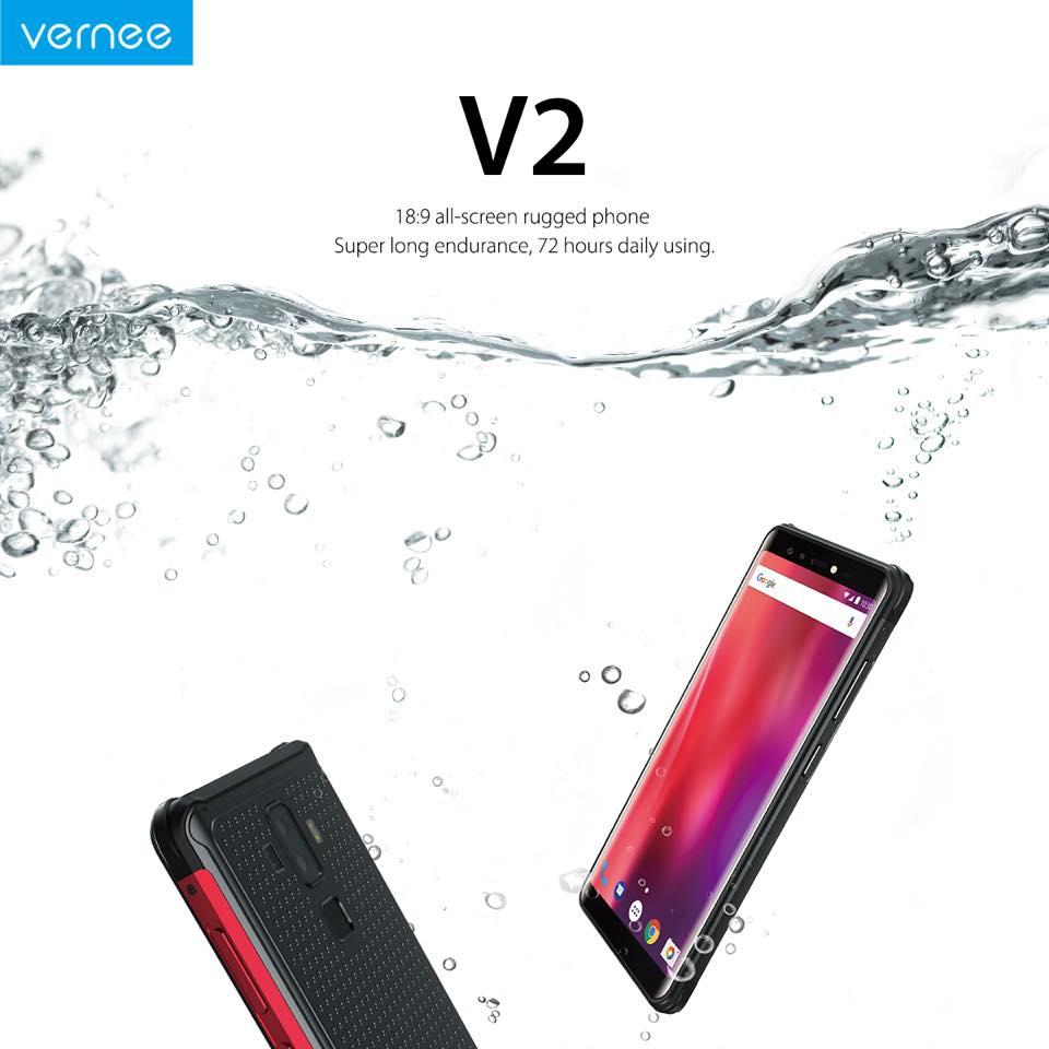 Vernee chystá další odolný telefon