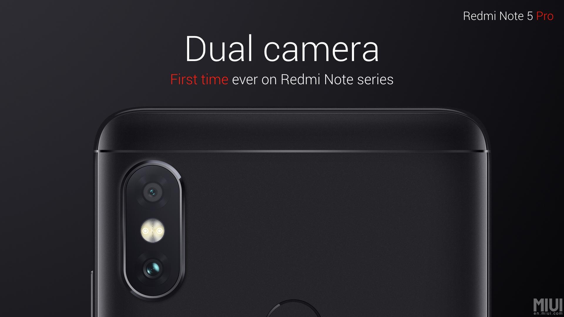 Xiaomi Redmi Note 5 Pro – duální foťák, velká baterie a lepší procesor