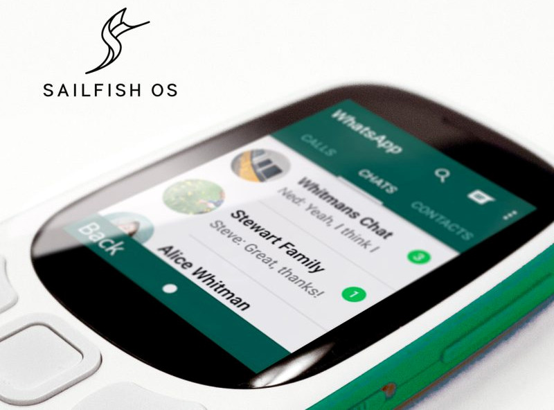 Jolla představila Sailfish 3 [MWC 2018]