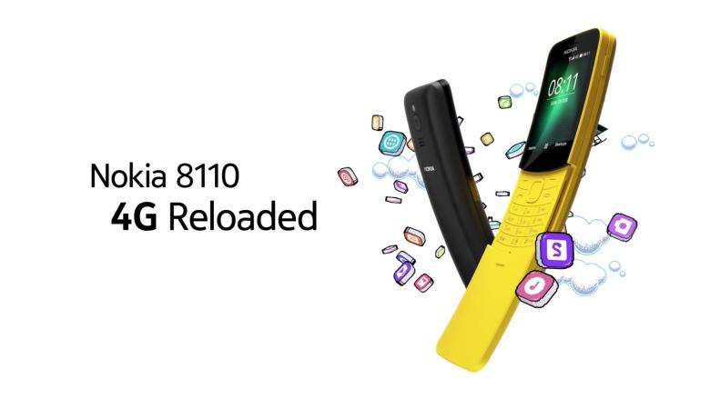 """""""Banánová"""" Nokia 8110 se brzy dočká aplikace WhatsApp"""