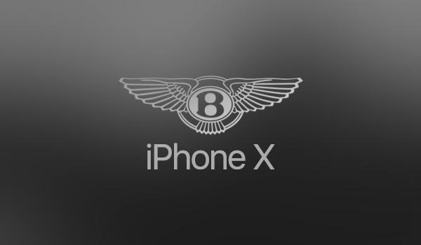 iPhone X přichází ve speciální edici Bentley