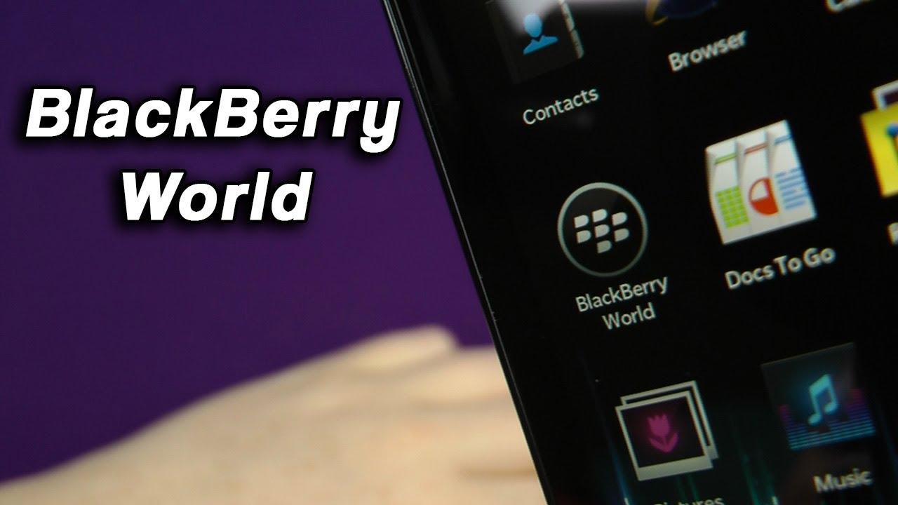 BlackBerry odstraní placené aplikace z BlackBerry World