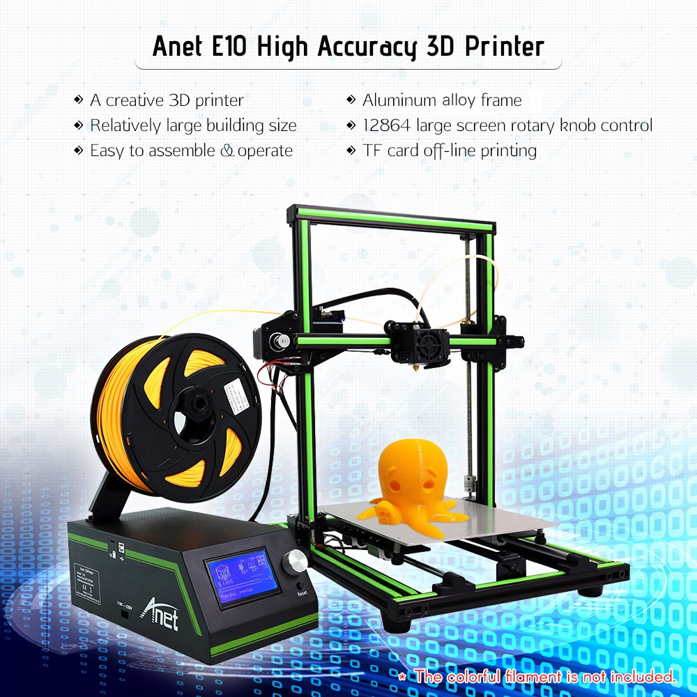Kit 3D tiskárny za hubičku. Anet E10 s 26% slevou! [sponzorovaný článek]