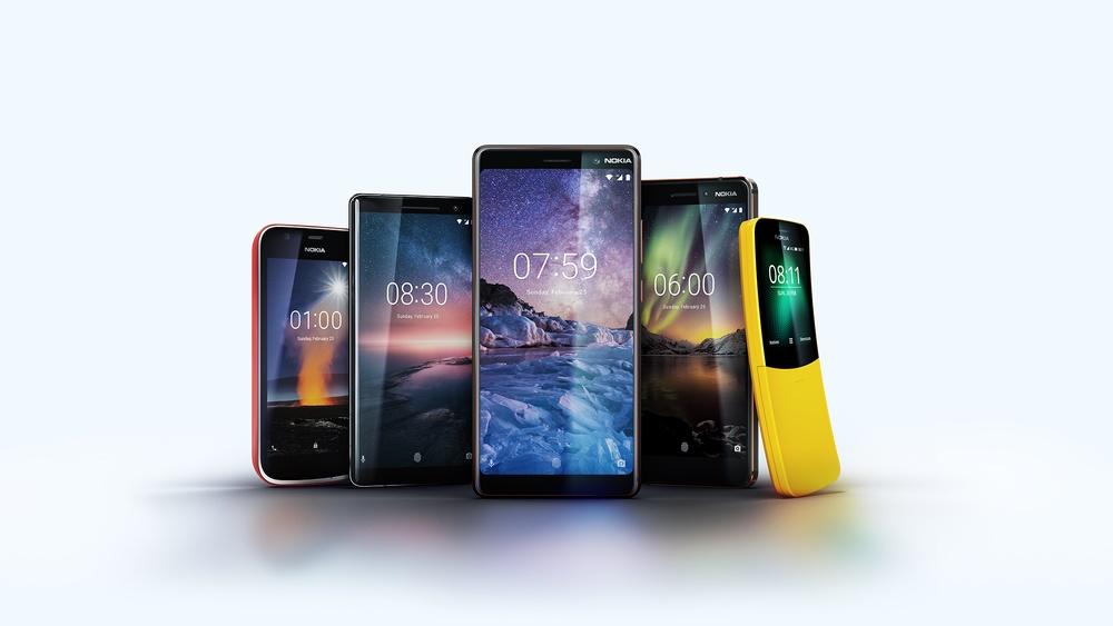 Pět novinek z Finska – Nokia 1, 6, 7 Plus, 8 Sirocco a Nokia 8110 [MWC 2018]