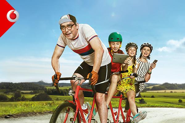 Vodafone navyšuje data u tarifů RED+ pro rodiny a firmy