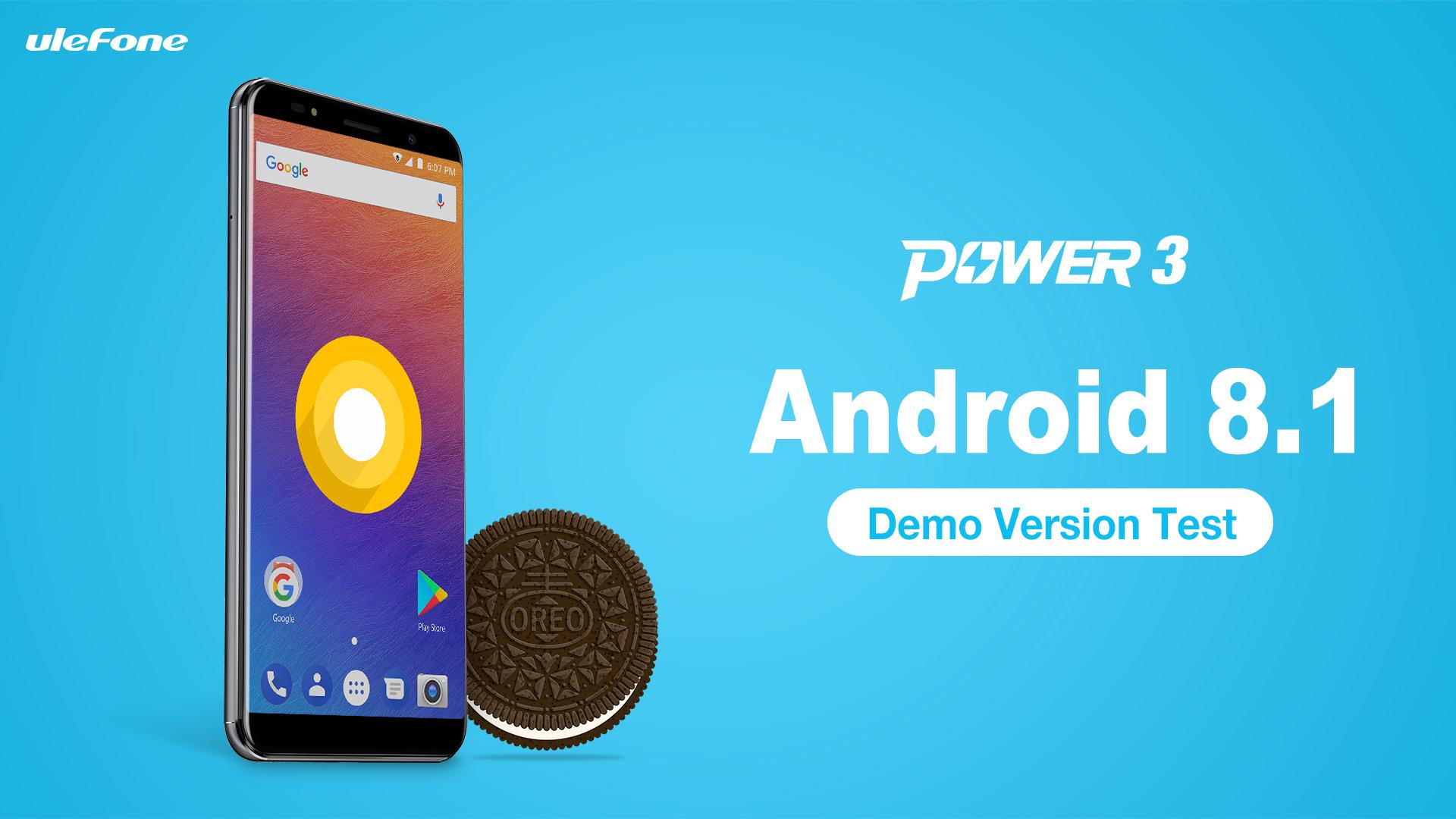 Ulefone Power 3 – test nové verze Androidu 8.1 (Oreo) [sponzorovaný článek]