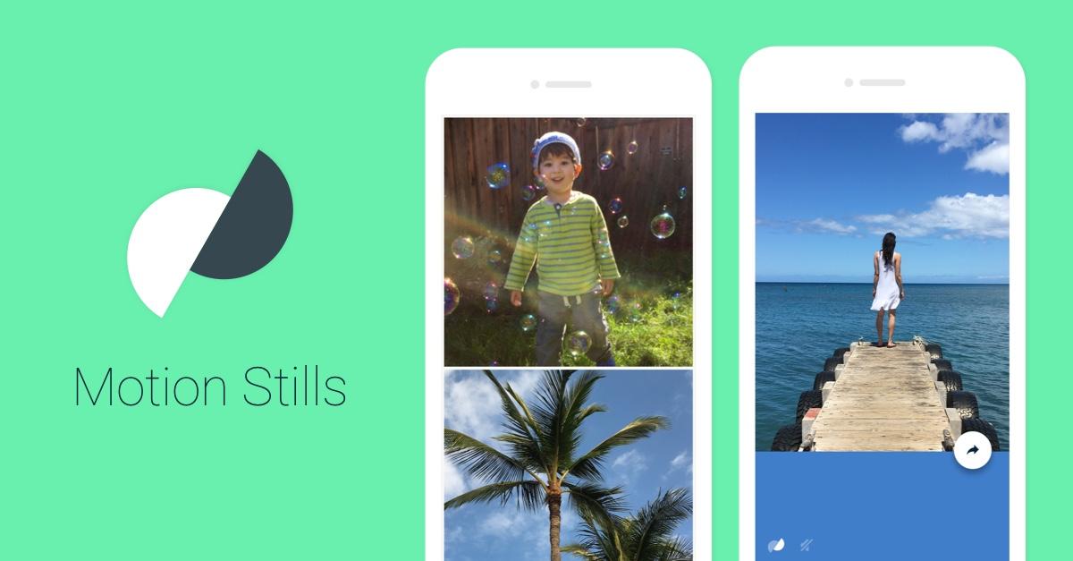 Google Motion Stills získá rozšířenou realitu a další novinky