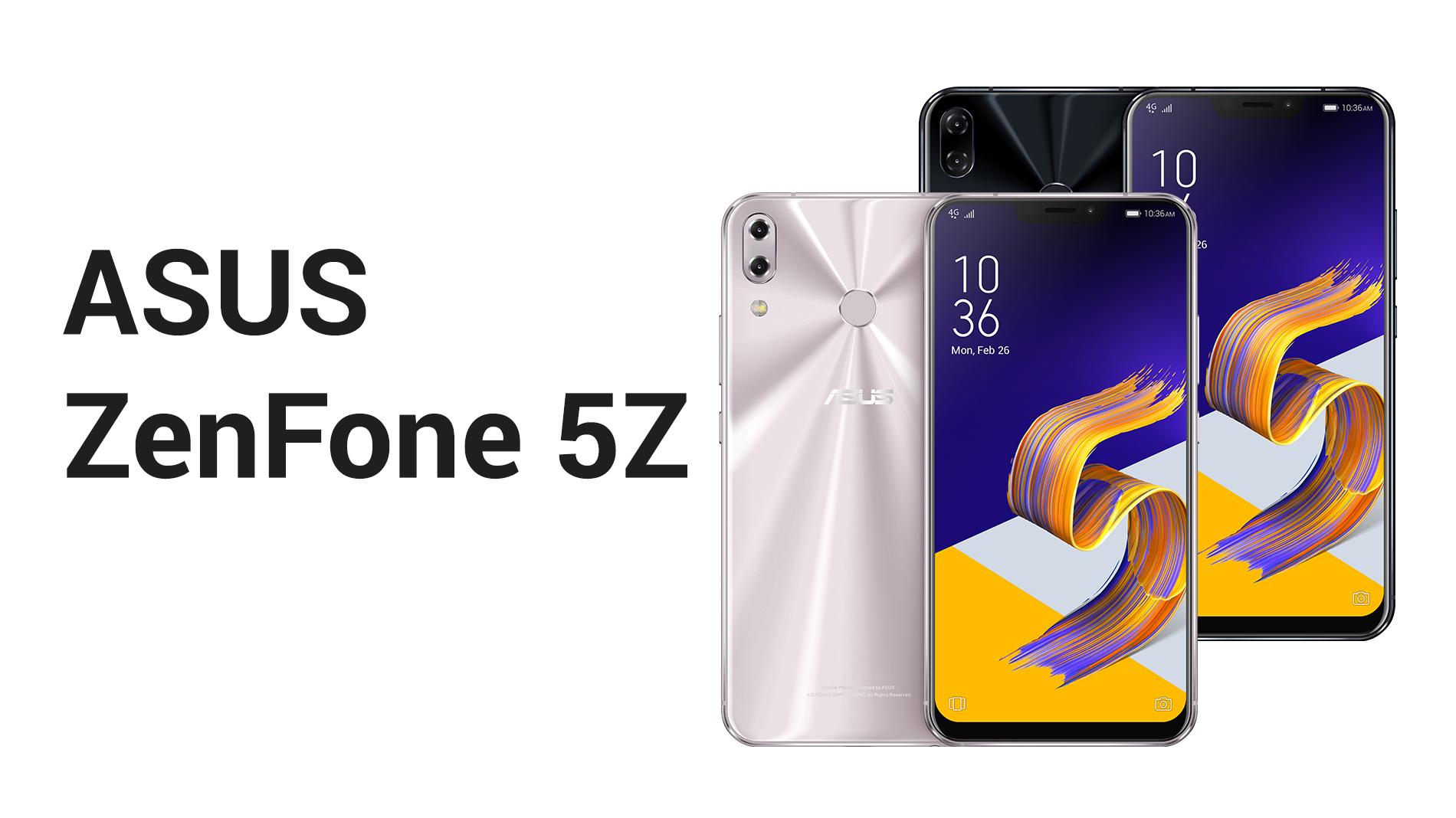Asus představil ZenFone 5Z, 5 a 5 Lite [MWC 2018]
