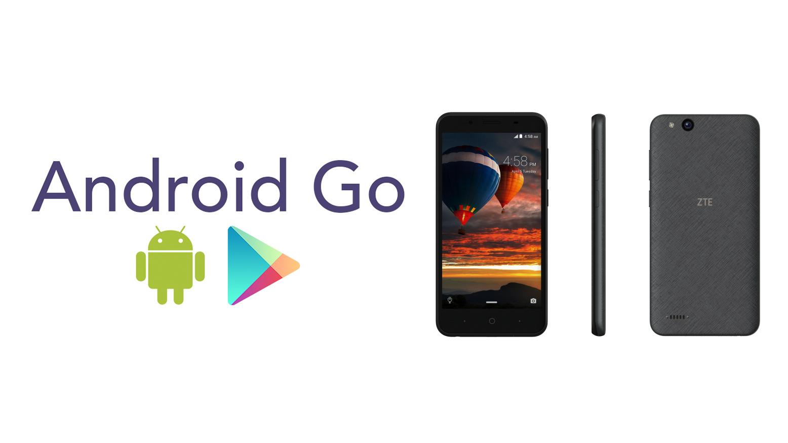 ZTE Tempo Go s Android Go a nízkou cenou [MWC 2018]