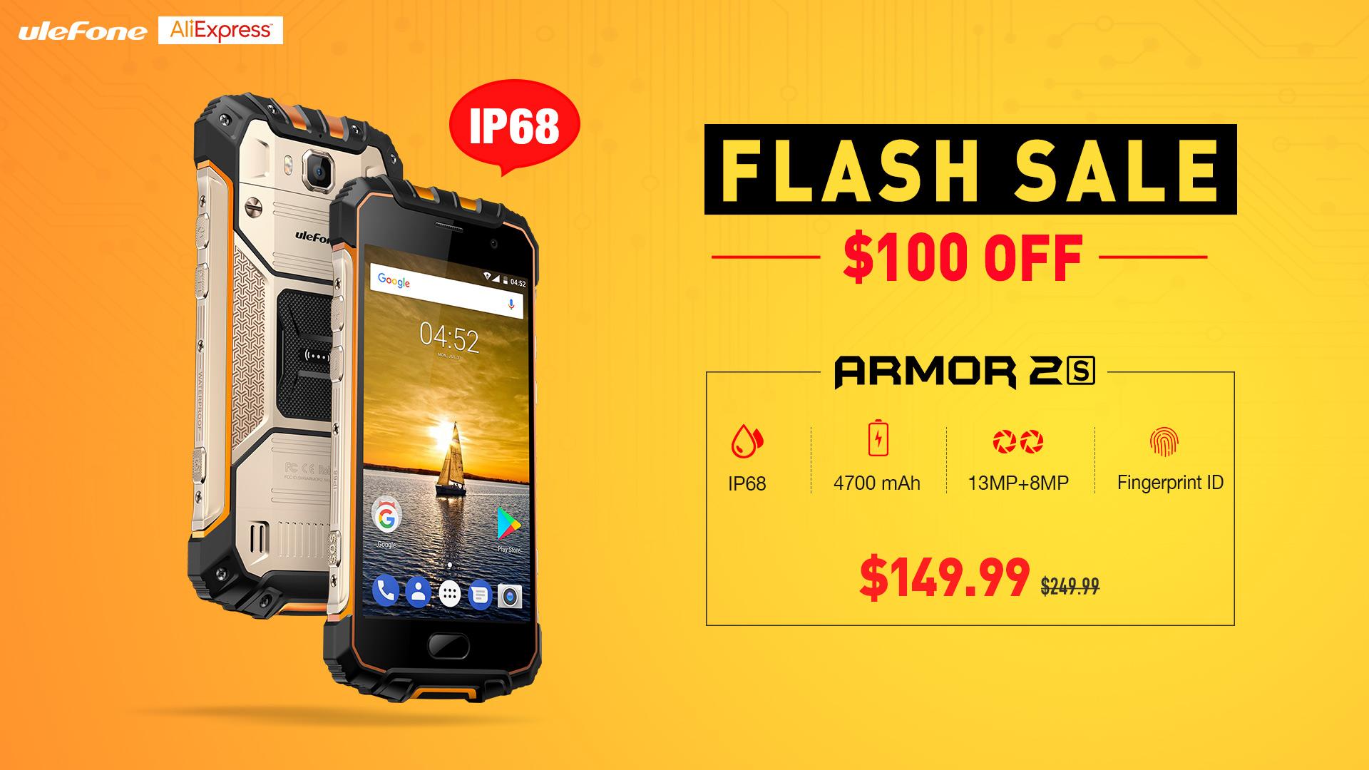 Exkluzivní cena za odolný telefon od společnosti Ulefone – Armor 2S [sponzorovaný článek]