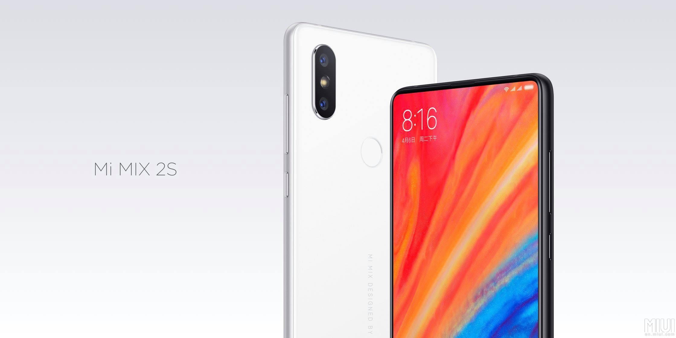Xiaomi Mi Mix 2s – evoluce přinášející duální foťák