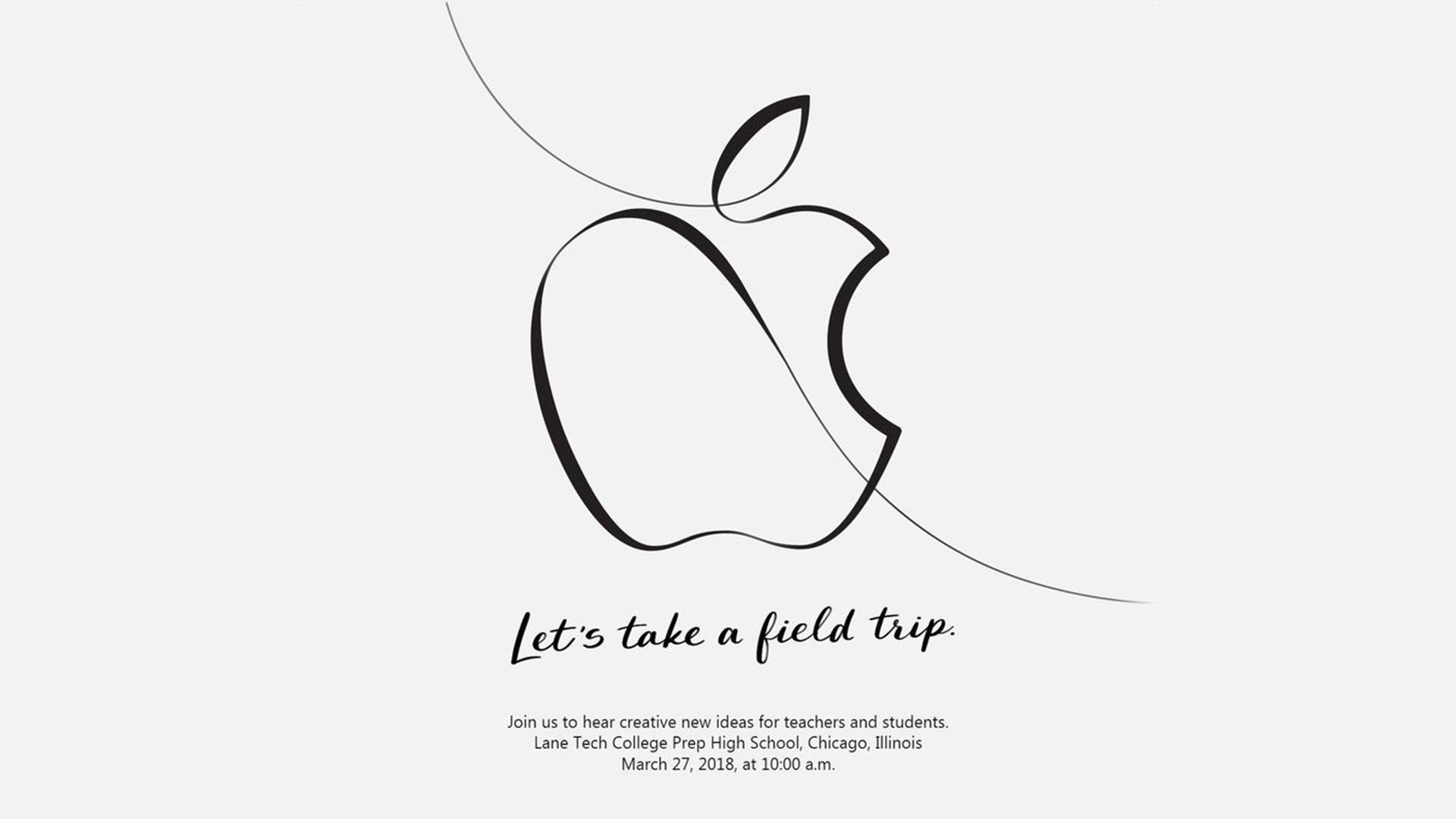 """Apple plánuje akci """"kreativní vzdělání"""", budou zde představena nová zařízení a software"""
