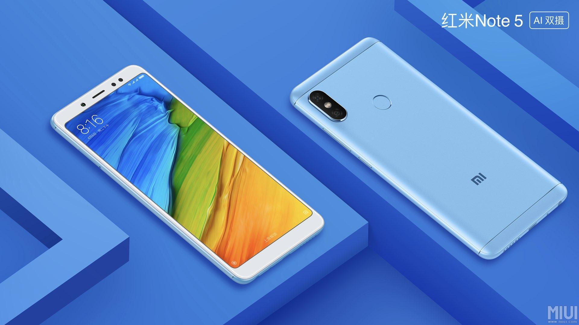 Novinka Xiaomi Redmi Note 5 (AI Dual Camera)
