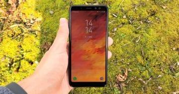 Samsung Galaxy A8 - odlehčená es-osmička [recenze]