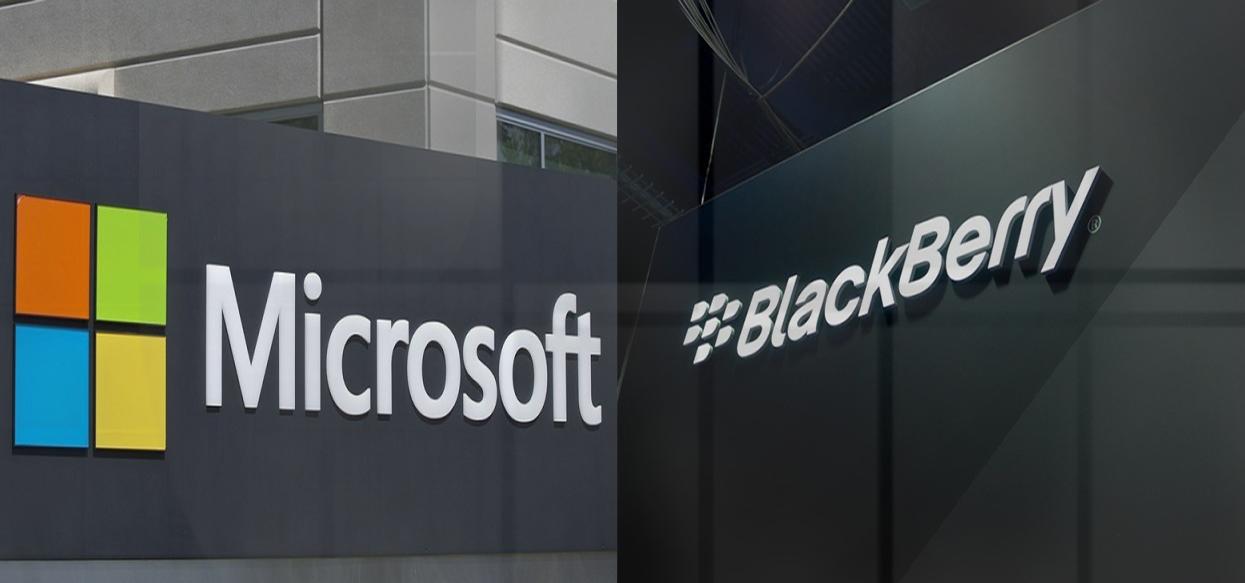 Microsoft a BlackBerry uzavírají spolupráci