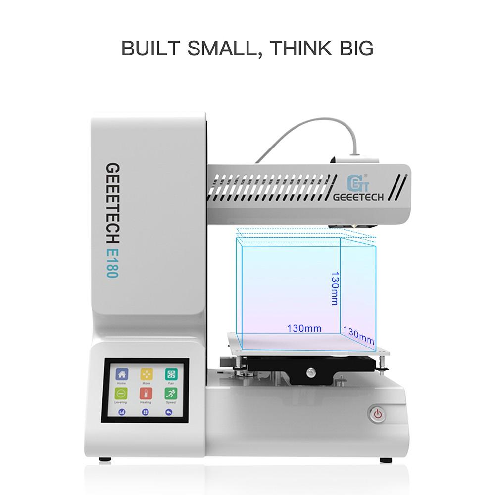 Trend 3D tiskáren: Model Geeetech E180 nyní za téměř polovinu své ceny! [sponzorovaný článek]