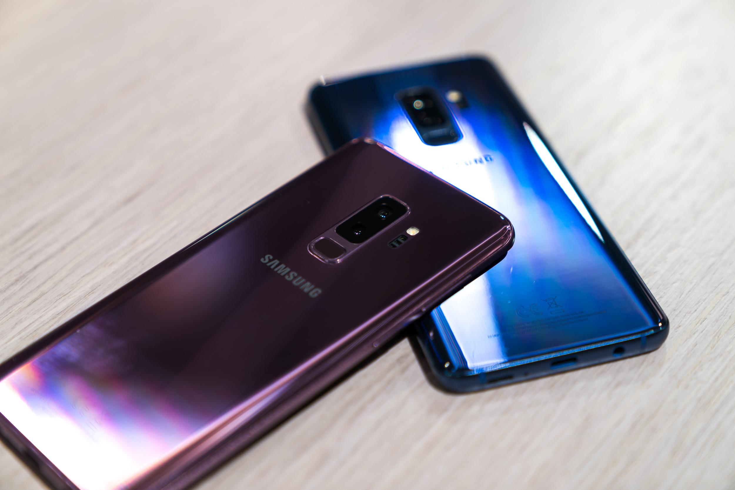 Galaxy S9 Plus – problémy s dotykovou vrstvou?