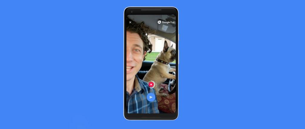 Google Duo nově nabízí zanechání vzkazu