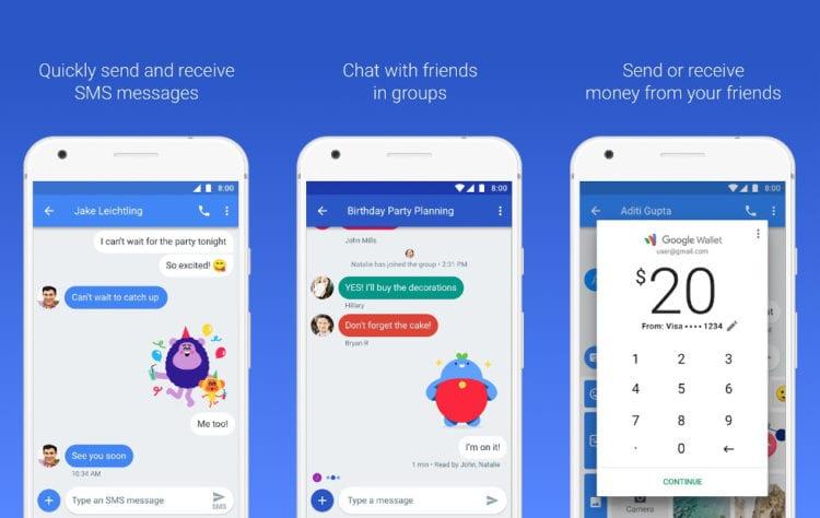 Zprávy pro Android