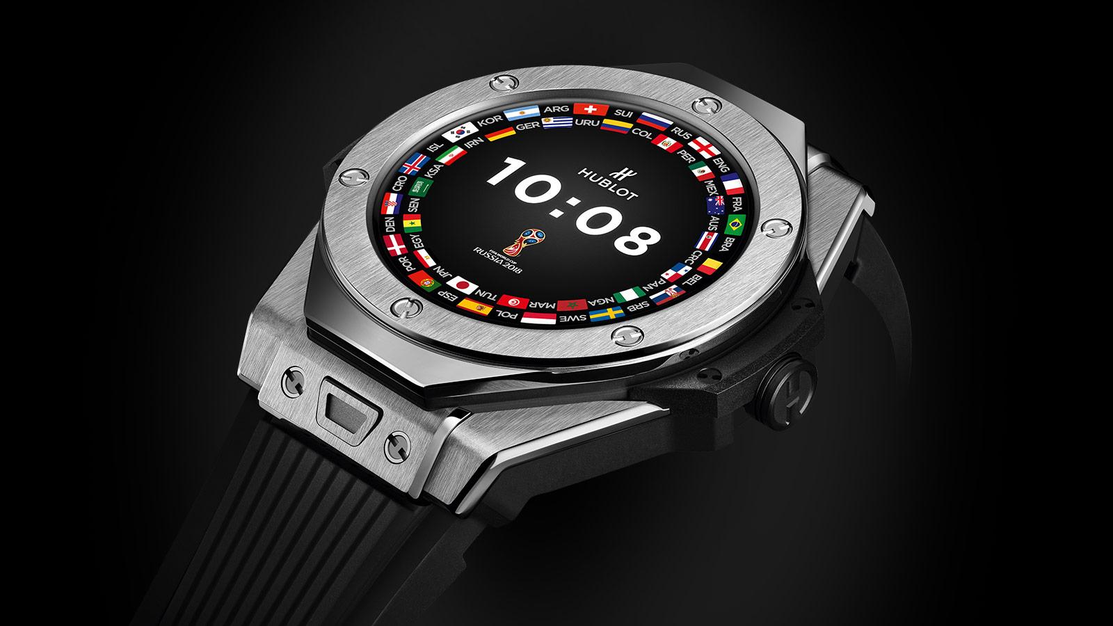 Hublot Big Bang Referee jsou nové hodinky s Wear OS od Googlu