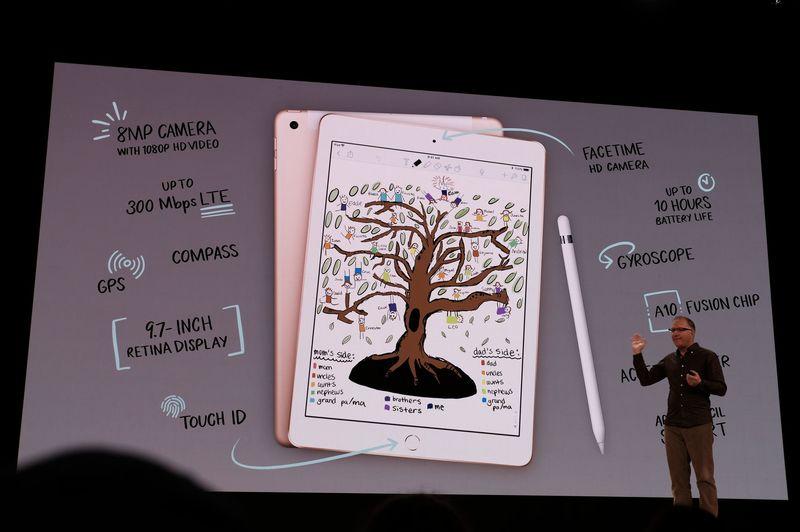 Apple představil nový iPad, hodně muziky za málo peněz
