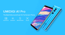 UMIDIGI představilo low-endový telefon A1, bohužel Androidem One nedisponuje