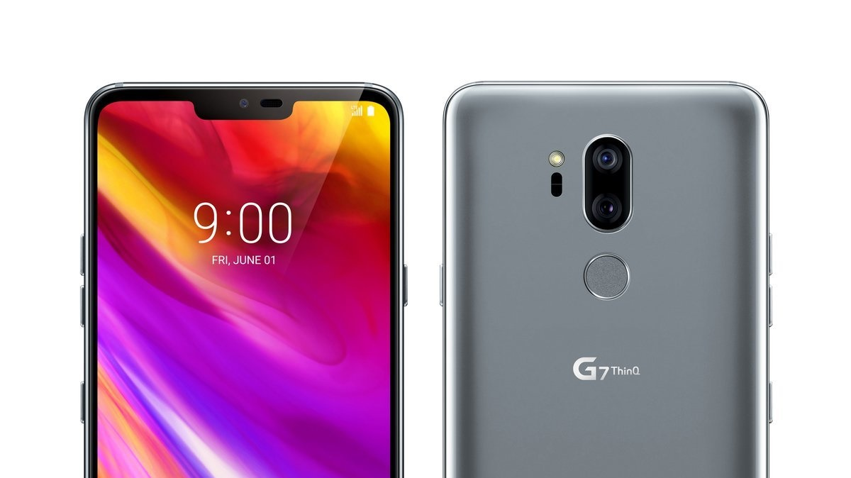 LG G7 ThinQ na detailním uniklém tiskovém renderu [aktualizováno]
