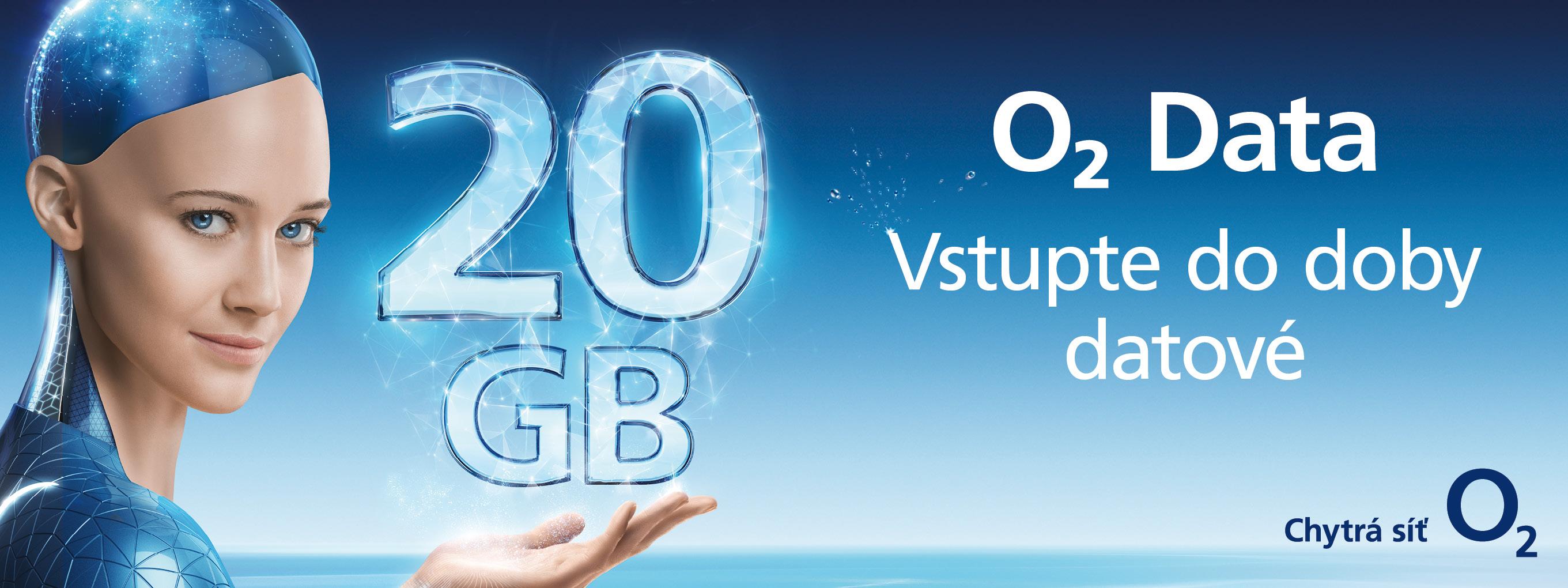 O2 představuje nové datové tarify