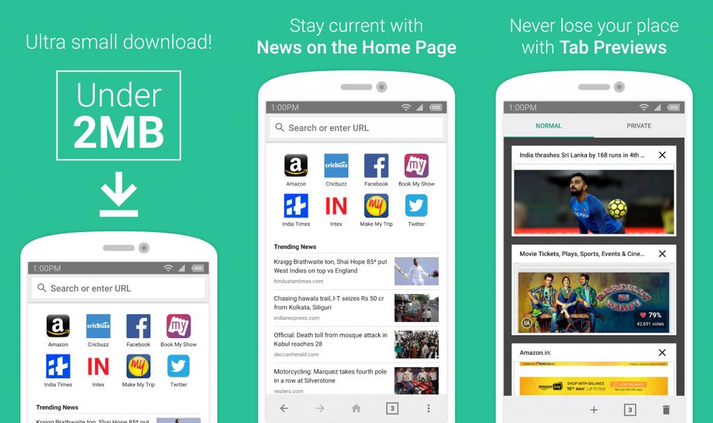 Amazon v tichosti představil nový internetový prohlížeč pro Android